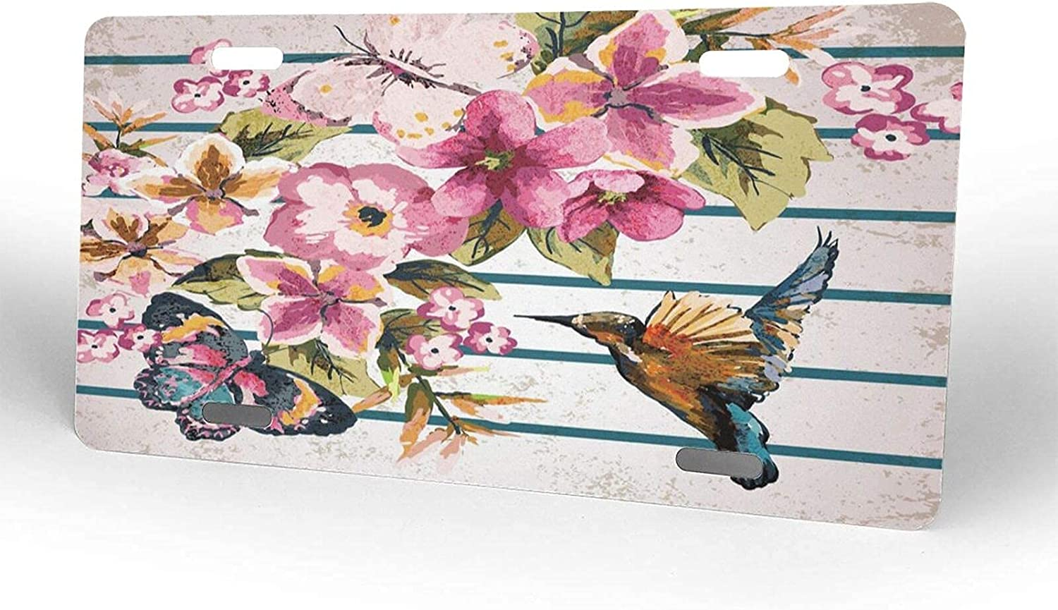 yiliusu Bird and Butterfly License Novelty Financial sales sale Cover 2021new shipping free shipping Lic Plate Metal