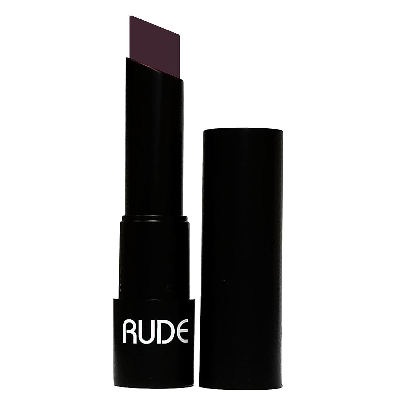 非効率的なサイクル同化(3 Pack) RUDE Attitude Matte Lipstick - Shrewd (並行輸入品)