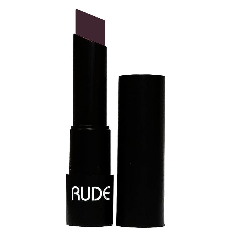 魅惑するオズワルド代表する(6 Pack) RUDE Attitude Matte Lipstick - Shrewd (並行輸入品)