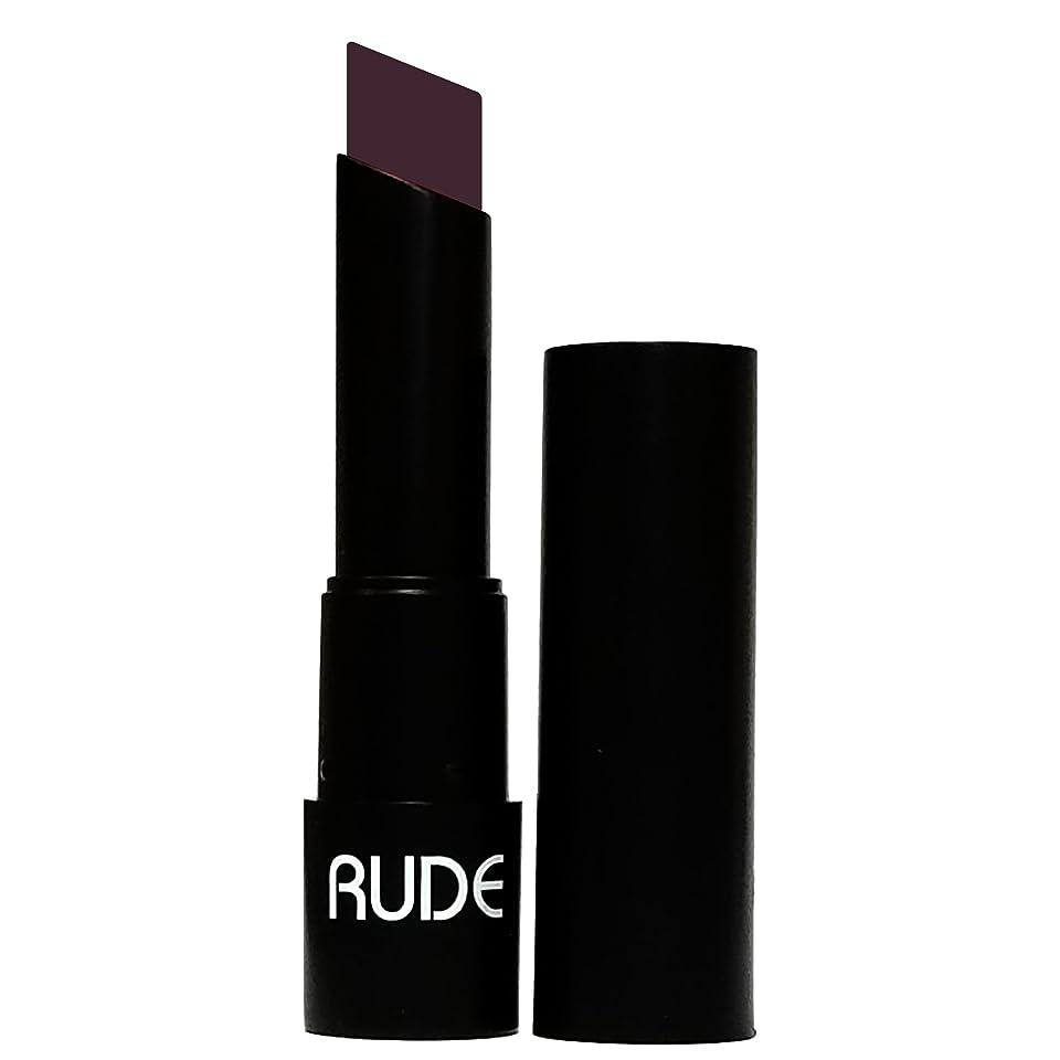 明確にセーブむき出し(3 Pack) RUDE Attitude Matte Lipstick - Shrewd (並行輸入品)
