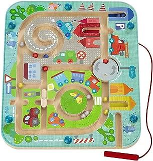 HABA Town Maze Magnetic Game Developmental STEM Activity Encourages Fine Motor Skills..