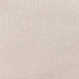 Kt KILOtela Tela de tapicería Lisa - Chenilla de Doble Cara - Tacto Suave Aterciopelado - Muy Resistente - Retal de 100 cm Largo x 280 cm Alto | Blanco