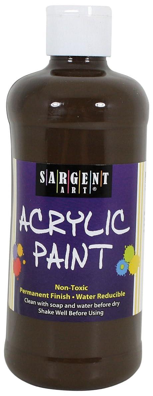 Sargent Art 24-2489 16-Ounce Acrylic Paint, Raw Umber