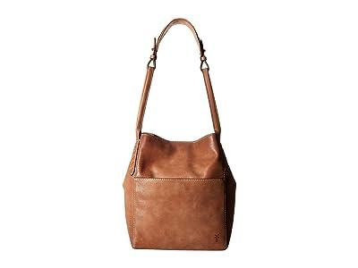 Frye Reed Hobo (Tan) Hobo Handbags