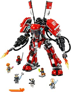 LEGO NINJAGO Movie Fire Mech 70615 Building Kit (944 Pieces)
