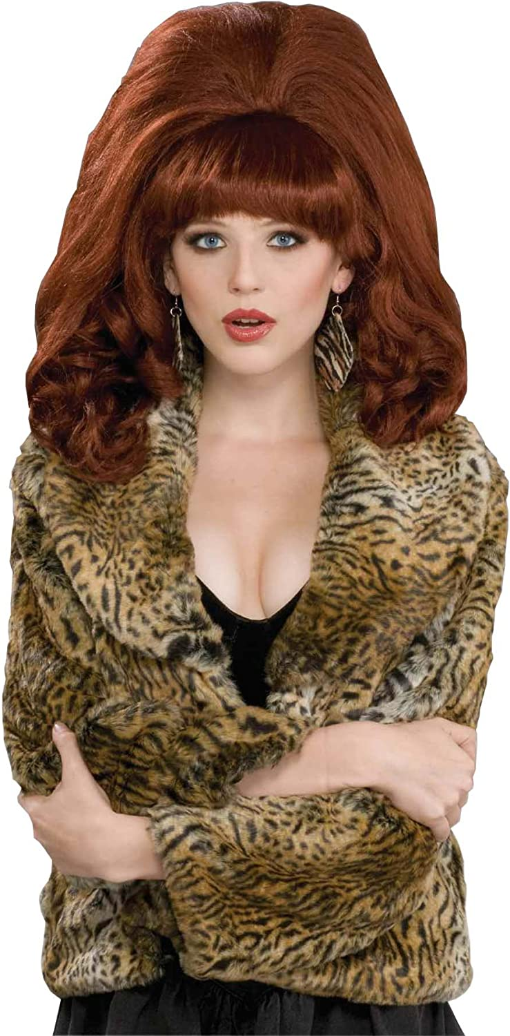 Forum Novelties Women's Big All items free shipping Costume Red Wig Max 58% OFF