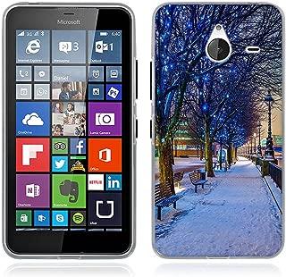 Lumia 640 XL Case, FUBAODA [Drop Protection][Slim Fit] [Shock Resistant] Soft TPU Gel Silicone Defender Protective Case Cover for Microsoft Lumia 640 XL