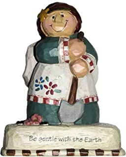 Artworks Home Accents Eddie Walker Mother Earth Angel Collectible Figurine - Be Gentle with the Earth