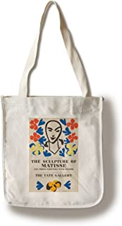 The Sculpture of Matisse - Tate Gallery Vintage Poster (Artist: Matisse) France c. 1953 (100% Cotton Tote Bag - Reusable)