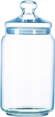 Luminarc Pot Club Glass Jar with Glass Lid (1000 ml)