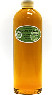16 OZ CHAULMOOGRA Oil by DR.Adorable 100% Pure Organic Cold Pressed