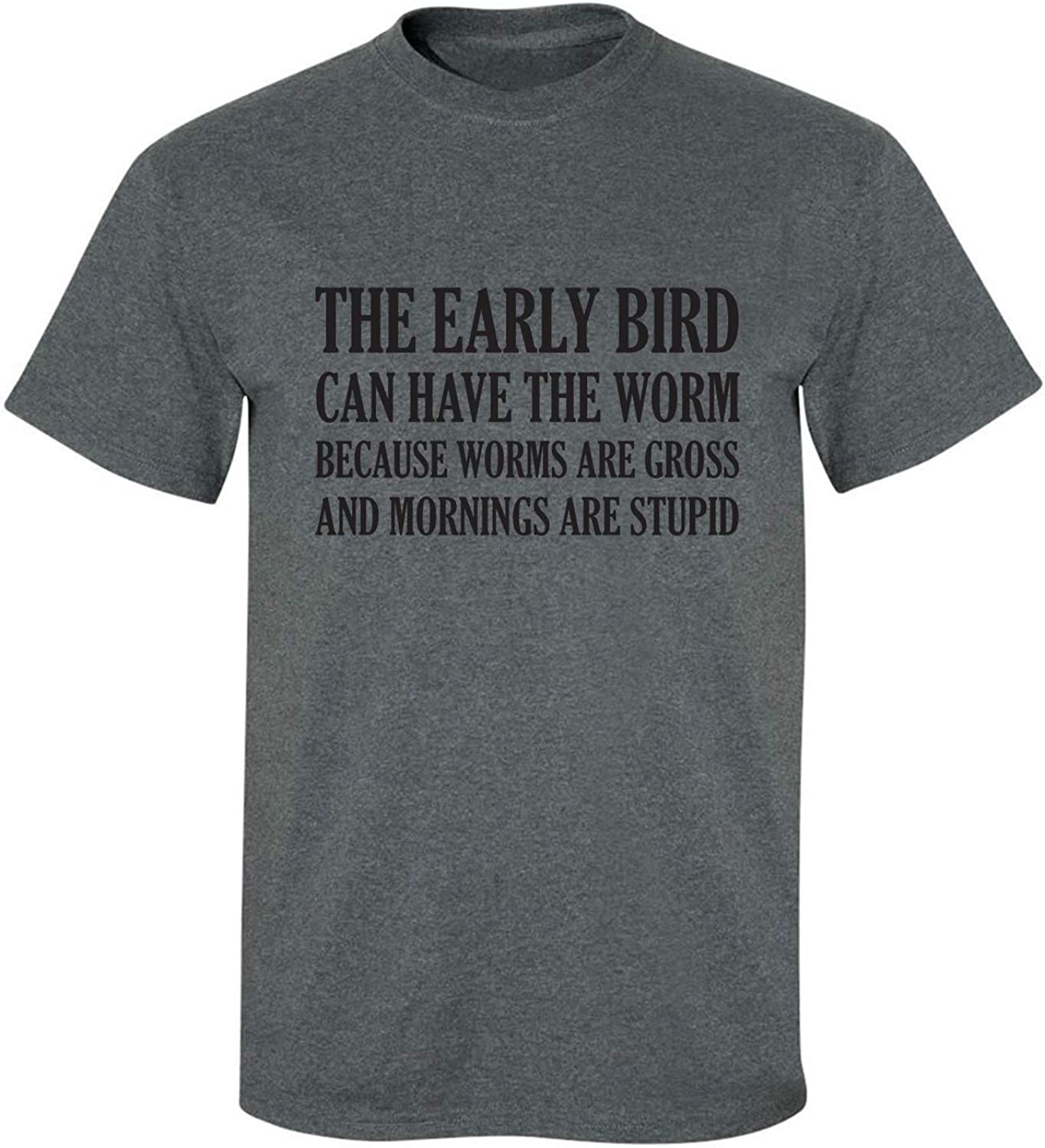 The Early Bird Can Have The Worm Adult Short Sleeve T-Shirt
