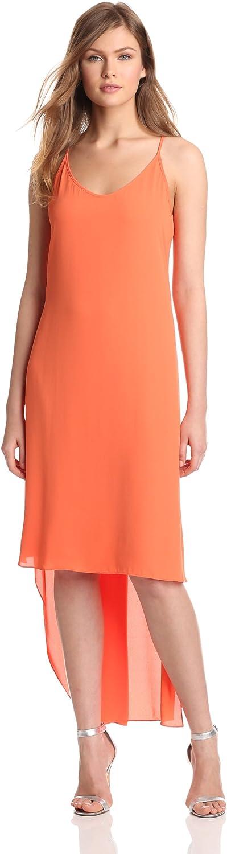 BCBGMAXAZRIA Women's Rory Sleeveless Dress with HiLow Hem