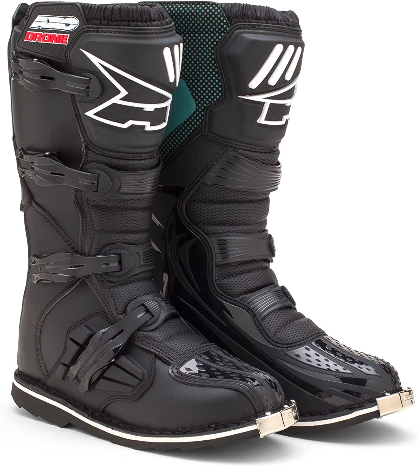 AXO Drone Boots, Black, Size 9