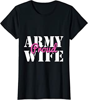Femme Proud Army Wife T-Shirt