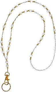 Hidden Hollow Beads, Simple Black, Women's Fashion Beaded Lanyard Necklace, 34