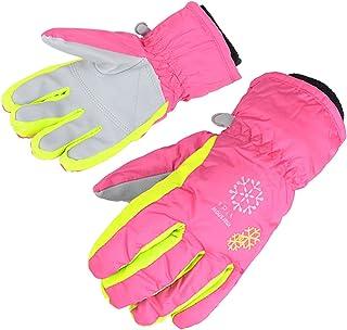 bf924ae40a6 AMYIPO Kids Winter Snow Ski Gloves Children Snowboard Gloves for Boys Girls