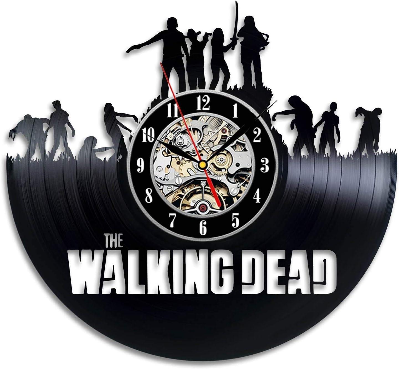 Walking Max 86% OFF Dead TV Series Wall El Paso Mall Friendship Gift Bi Clock Modern