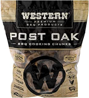 Western Premium BBQ Products Post Oak BBQ Cooking Chunks, 570 cu in