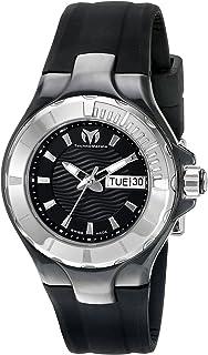 [テクノマリーン]TechnoMarine 腕時計 Cruise Ceramic Analog Display Swiss Quartz Black Watch TM-110026 レディース [並行輸入品]