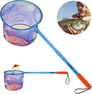ODDSPRO Kids Fishing Net with Carbon Fiber Telescopic...
