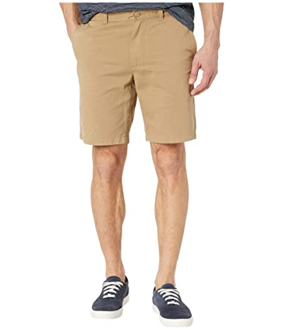 J.Crew 9 Garment-Dyed Chino Shorts (British Khaki) Men