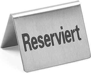 Hendi 663707 mesa Cartel Reservado (4 unidades): Amazon.es ...