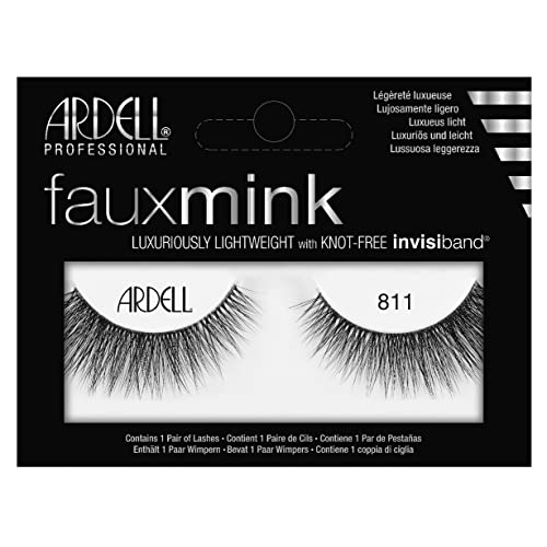 831be645e49 Ardell Faux Mink #811 Black Lashes (6 Pack)