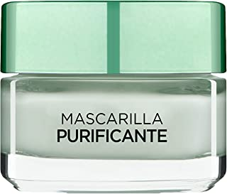 LOreal Paris Dermo Expertise - Arcillas puras mascarilla purificante y matificante color verde - total 50 ml