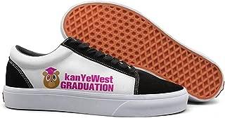 Mens Kanye-West-My-Beautiful-Dark-Twisted-Fantasy- Casual sneakers Flat Slip spring Original