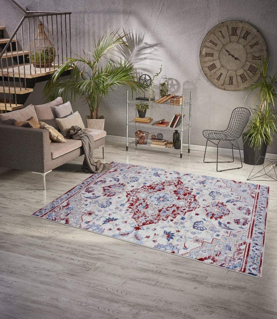 Luxe Wholesale Weavers Victoria Collection Ivory Mesa Mall Oriental Rug 75 Area 8x10