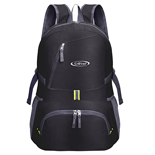 f016839efd G4Free 30L Ultra Lightweight Tear   Water Resistant Foldable Backpack  Packable Rucksack for Travelling