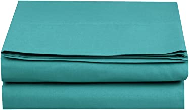 Elegant Comfort ™ Premium Hotel 1-Piece, Luxury & Softest 1500 Thread Count Egyptian Quality Bedding Flat Sheet, Wrinkle, ...