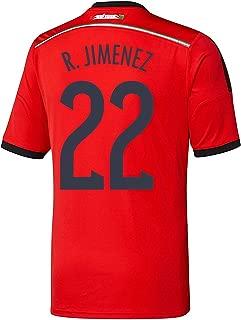 R. Jimenez #22 Mexico Away Jersey World Cup 2014 (YM)