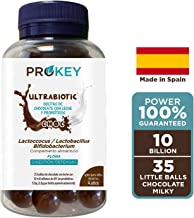 Probiotics Kids and Adults Ultrabiotic Choc Milk Chocolate Ball with 10000 Million cfu Lactobacillus Bifidobacterium and Lactococcus Better Immunity and Digestion 35 Delicious Balls Estimated Price : £ 16,45