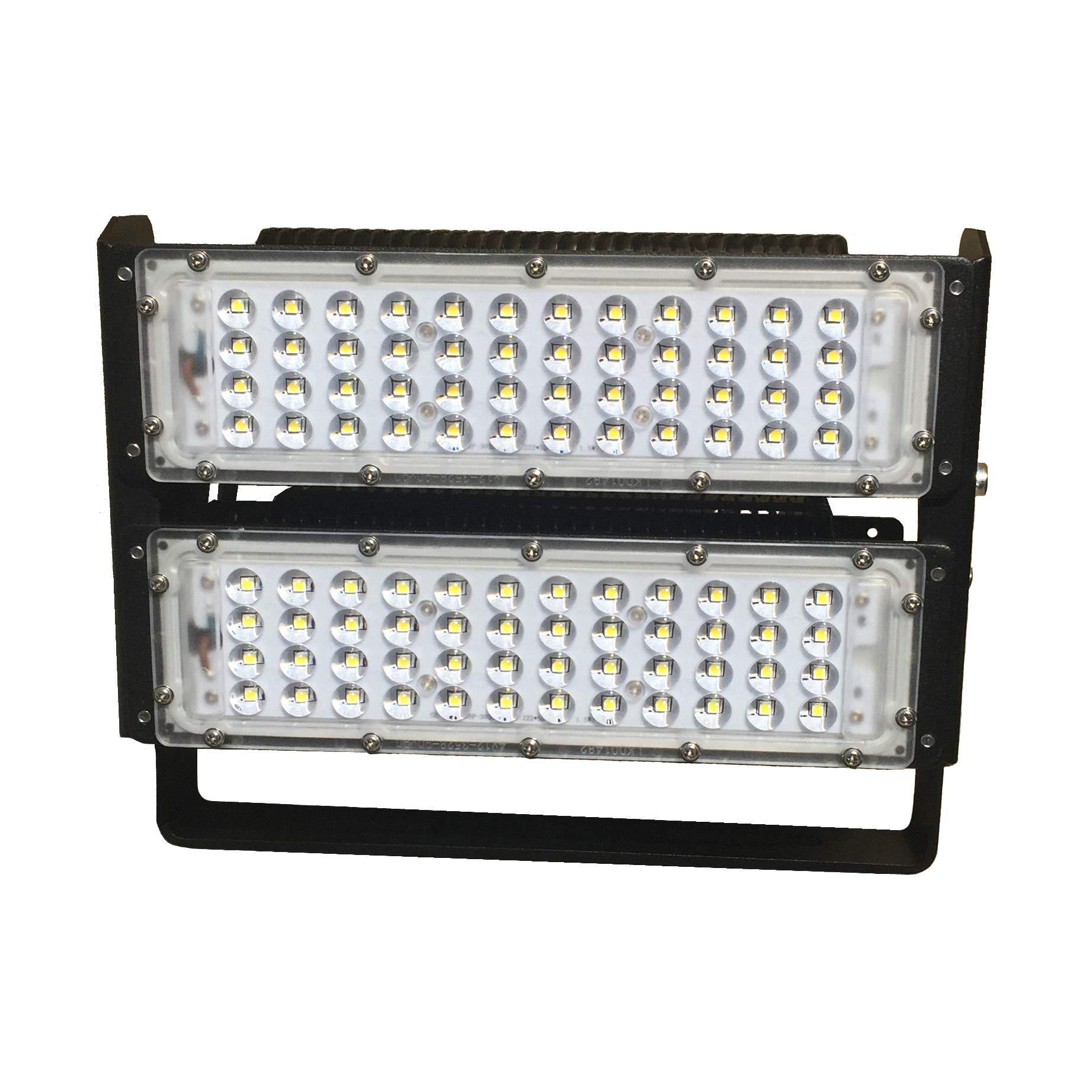 Espled Proyector LED 100W, 100 W, Negro: Amazon.es: Iluminación