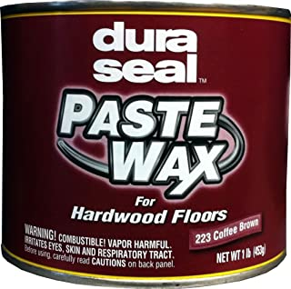 dura seal paste wax coffee brown