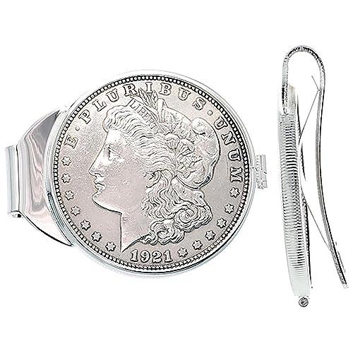 Antique silver coin-gorgeous! Morgan dollar money clip