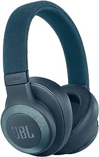 JBL E65BTNC Blue Wireless Over-Ear Noise Cancelling Headphones