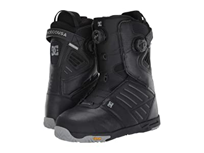 DC Judge Dual BOA(r) Snowboard Boots (Black) Men