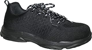 Groundwork Mens GR96 Steel Toe Cap Saftey Ultra Light Weight LACE Work Trainer Shoes