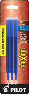 PILOT FriXion Gel Ink Refills for Erasable Pens, Fine Point, Blue Ink, 3-Pack (77331)