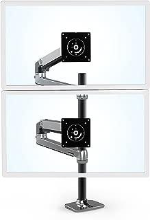 Ergotron 45-549-026 Lx Dual Stacking Arm Tall Pole Bright