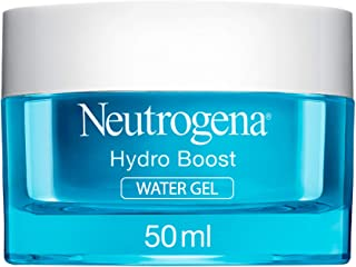 Neutrogena Face Moisturizer Water Gel, Hydro Boost, Normal to Combination Skin, 50ml