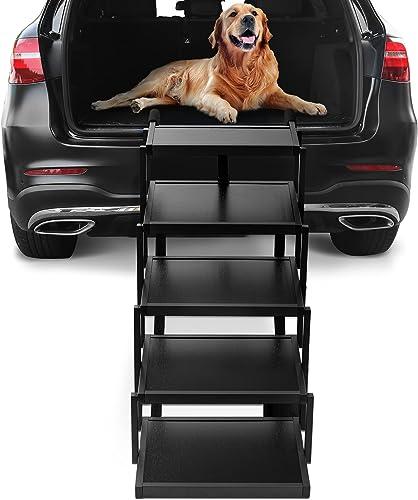 Niubya Car Dog Steps for Large Dogs