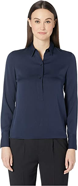 Slim Fitted Popover Shirt