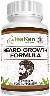 CRECIMIENTO BARBA CÁPSULAS - Vitaminas para el Cabello y Barba - Crece Barba y Crecimiento Cabello
