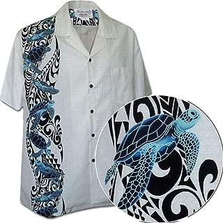 Hawaiian Honu Single Panel Men's Aloha Shirts