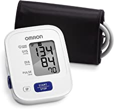 OMRON 3 Series Upper Arm Blood Pressure Monitor; 14-Reading Memory, Soft Wide-range Cuff, #1 Dr. Recommended ByOMRON