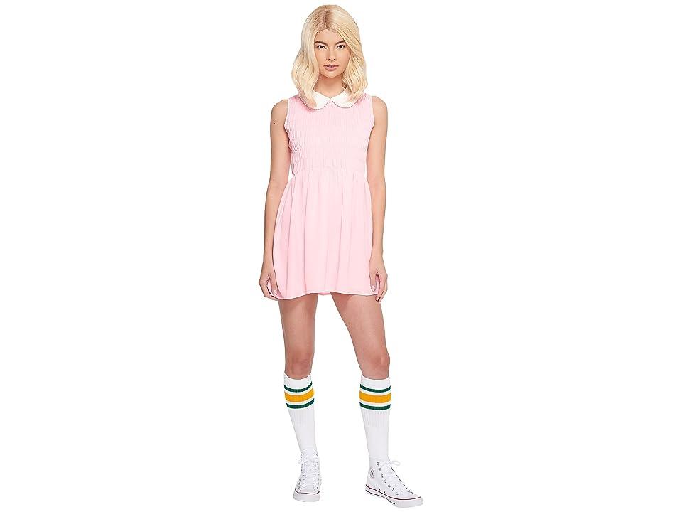 Melonhopper Eleven Dress Smocked Costume (Stranger Pink) Women